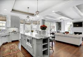 Kitchen Family Room Design