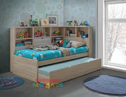 Kids bed Ship Kids Bed With Storage Bookcase Jason Storage Bed Kids Bed With Storage Bookcase Jason Storage Bed Very Functional