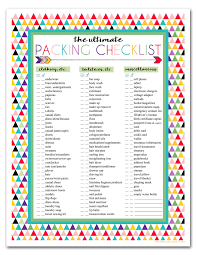 I Should Be Mopping The Floor: Free Printable Ultimate Travel Checklist