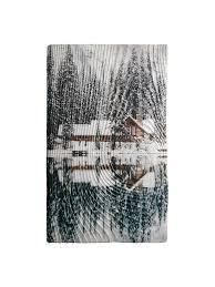 "<b>Картина на дереве</b> ""<b>Дом</b> у озера"" ручная работа, открытка"