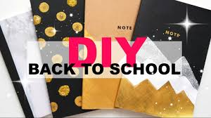 Diy Book Cover Design Diy Notebook Cover Design Back To School