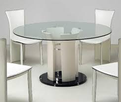 Round Granite Kitchen Table Dining Room Cozy Unique Round Dining Table With Metal Base Design