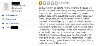 yelp review template. Modren Template Bad_yelp_reviews_nyc_robertas_nyc_troll In Yelp Review Template N