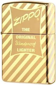 49075 <b>Зажигалка Zippo Vintage Zippo</b> Box Top, High Polish Brass