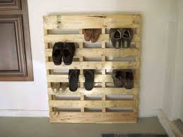 Coat And Boot Rack S Homemade Pallet Boot Rack Coat With Shoe Storage And Bench All 16
