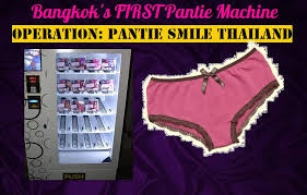 Used Pants Vending Machine Inspiration Black Pagoda Patpong Has A Panty Vending Machine Nightlife In