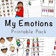 Emotions Chart For Kindergarten Feelings Activities Emotions Worksheets For Kids Fun