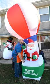 Santa stand-in: Store replaces stolen decoration   Local Business    pantagraph.com