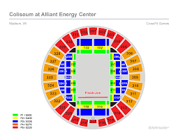 Final Four Seating Chart 2019 Reebok Crossfit Games Tickets