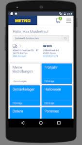 Metro online bestellservice