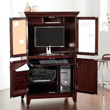 hidden office furniture. chic computer armoire hidden home office furniture uk desk bed
