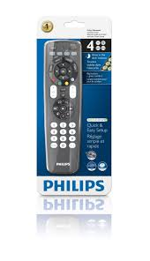 philips tv remote input button. amazon.com: philips srp4004/perfect replacement universal remote control (black): home audio \u0026 theater tv input button