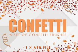 Confetti Brush Photoshop Confetti Photoshop Brush