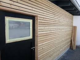 Fenster Verkleiden Awesome With Garage Mit Holz Fassade Alu Kosten