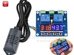 XH-M452 DC 12V LED Dual Digital <b>Temperature</b> Humidity ...