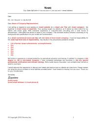How To Write Email Cover Letter For Resume Resume For Your Job