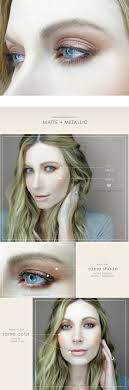 wedding makeup for blue eyes matte metallic step by step makeup tutorials for