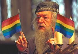 Is dumbledore really gay