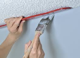 tool for painting clean lines on the ceiling or around trim