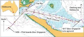 Investigation Mo 2016 005 Grounding Of Bow Singapore