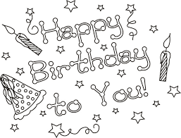 Small Picture Happy Birthday Coloring Pages 360ColoringPages