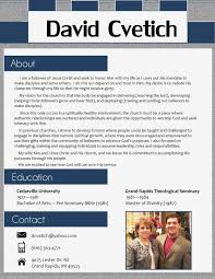 Pastoral Resume Examples My Resume Design For A Pastoral Position Page 24 I'll Do Yours For 18