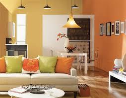 wall color ideas living room walls colored orange