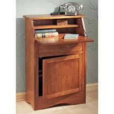 gorgeous secretary furniture interior with backyard design in wood secretary desk