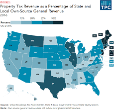 State By State Property Tax Comparison Chart How Do State And Local Property Taxes Work Tax Policy Center