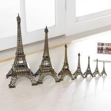 Eiffel Tower Home Decor Accessories Paris Eiffel Tower Decoration Model metal Home Decor Birthday Gift 72