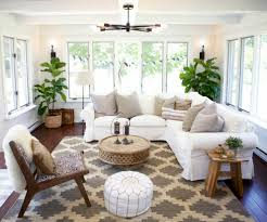 wicker furniture for sunroom. Sunroom Furniture Ideas For Home Interior Inspiring: With Round Wicker Coffee Table