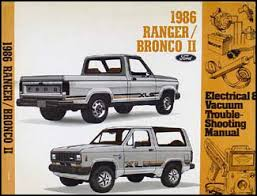 1986 ford bronco ii wiring schematic images details about 1986 ford ranger and bronco ii electrical and vacuum