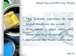 what is a profile essay what is a profile essay