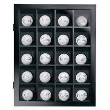 modern style golf ball display