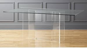 scarpa glass and acrylic dining table reviews cb2 inside plans 0