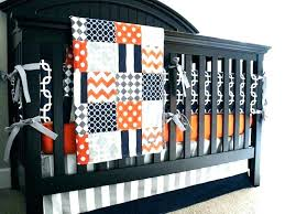 navy and gray nursery fascinating navy and orange bedding blue crib bedding sets boys orange bedding