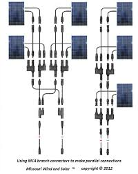 wiring solar panels in series solidfonts how to connect solar panels in series electrical bazaar on web