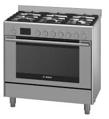 Gas Kitchen Ranges Bosch Hsb738357a 90cm Freestanding Gas Catalytic Wall Oven Kitchen