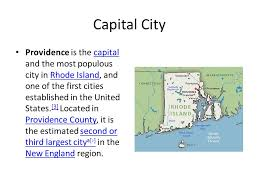 The largest major city in rhode island is providence with a population of 378,042. Rhode Island Byisaiah Capital City Providence Is The Capital And The Most Populous City In Rhode Island And One Of The First Cities Established In The Ppt Download