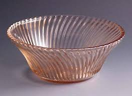 Pink Depression Glass Patterns Awesome Depression Glass Pink Pink Depression Glass Cereal Bowl Rare Pink