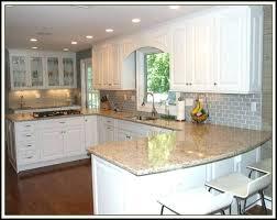 kitchen backsplash grey subway tile. Light Grey Fascinating Kitchen Decoration With Subway Tile Backsplash White  Gray Grout Wood Large T