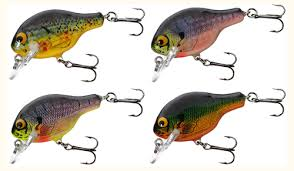 Bagley Small Fry Bream 4pk Assortment Fishing Lure Color