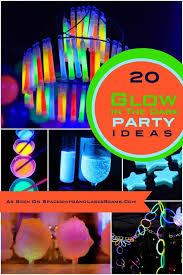glow in the dark birthday party ideas boys