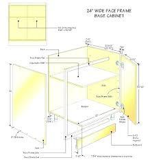 kitchen base cabinets height cabinet depth sizes kitc