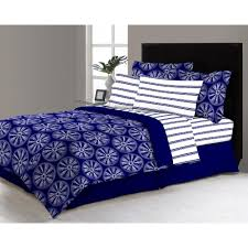 delray 6 piece twin bed in a bag comforter set