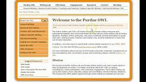 Purdue Owl Apa Guide