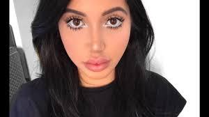 big eyes baby doll makeup look sonya sed