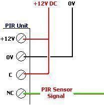 honeywell pir wiring diagram wiring diagram honeywell is312b pir wiring at Honeywell Pir Sensor Wiring Diagram