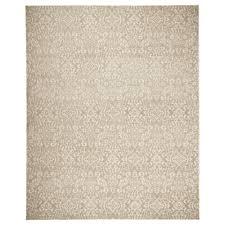 DYNT rug, low pile, beige Length: 9 ' 10