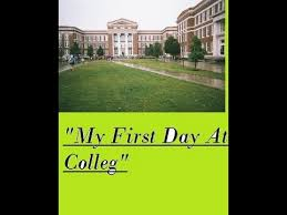 an essay my first day at college  an essay my first day at college